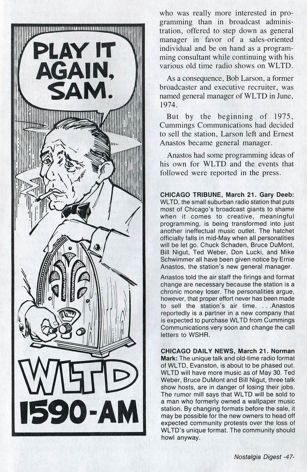 Saga of WNMP-WLTD 3