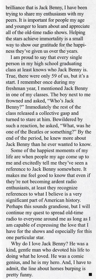 Why I Love Jack Benny 03