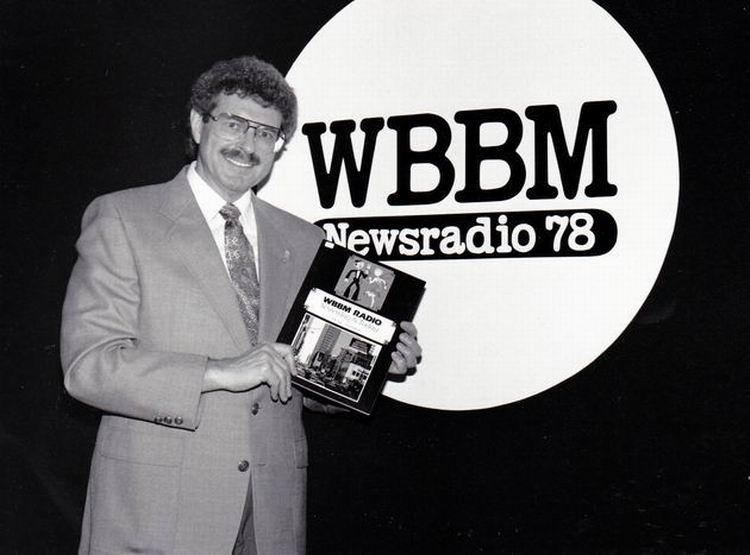 Chuck with WBBM Book & Logo Photo E